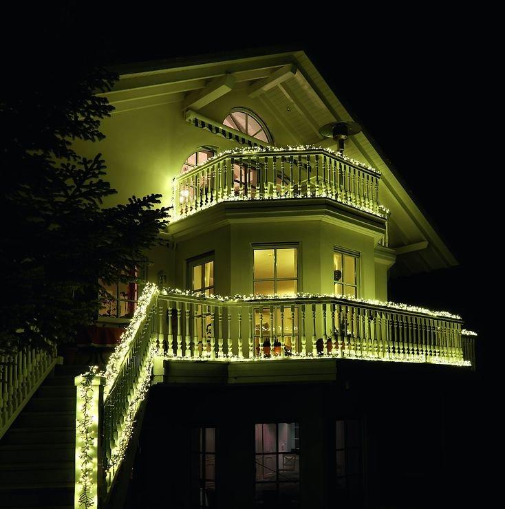 Konstsmide LED Büschellichterkette 1540 LED 8 Funktionen außen 9m schwarz - Pic 3