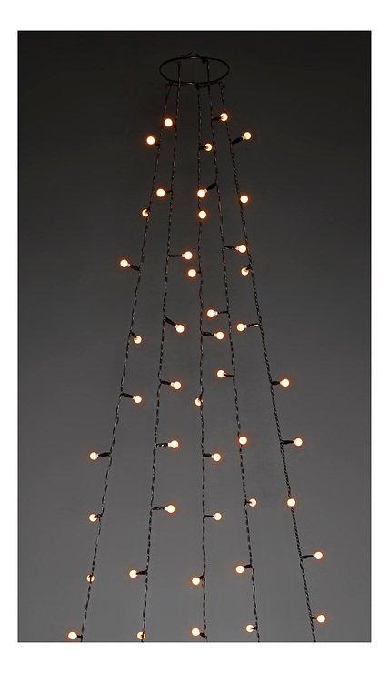 Konstsmide Lichterkette Globe Baummantel 5 Stränge 300 LED warmweiß - Pic 2