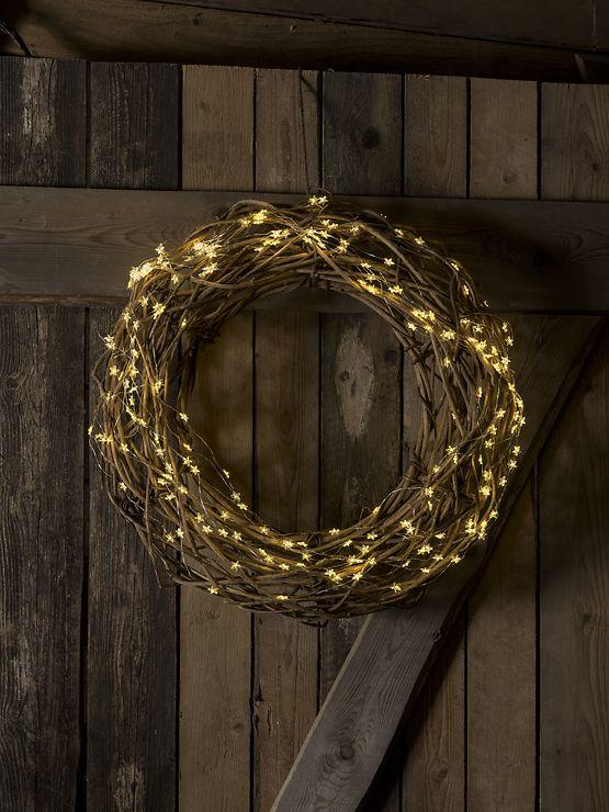Konstsmide LED Lichterkette Sternenlametta 200 LED warmweiß innen 2m silber - Pic 2