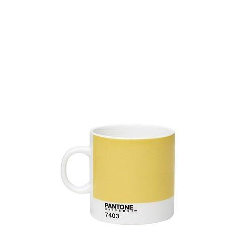 Pantone Universe Espressotasse Light Yellow 7403 120 ml Bone China