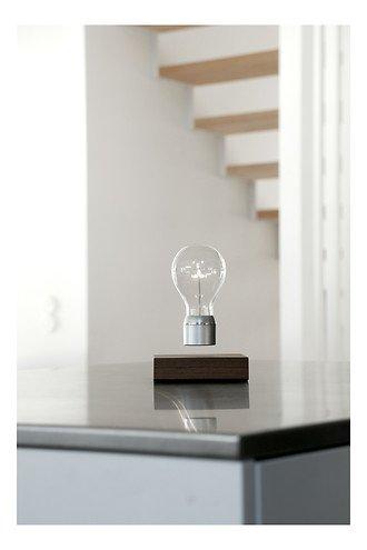 Flyte LED Tischlampe Manhattan Walnussholz