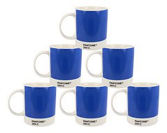 Pantone Universe Becher 6er Set Royal Blue 294C New Bone China