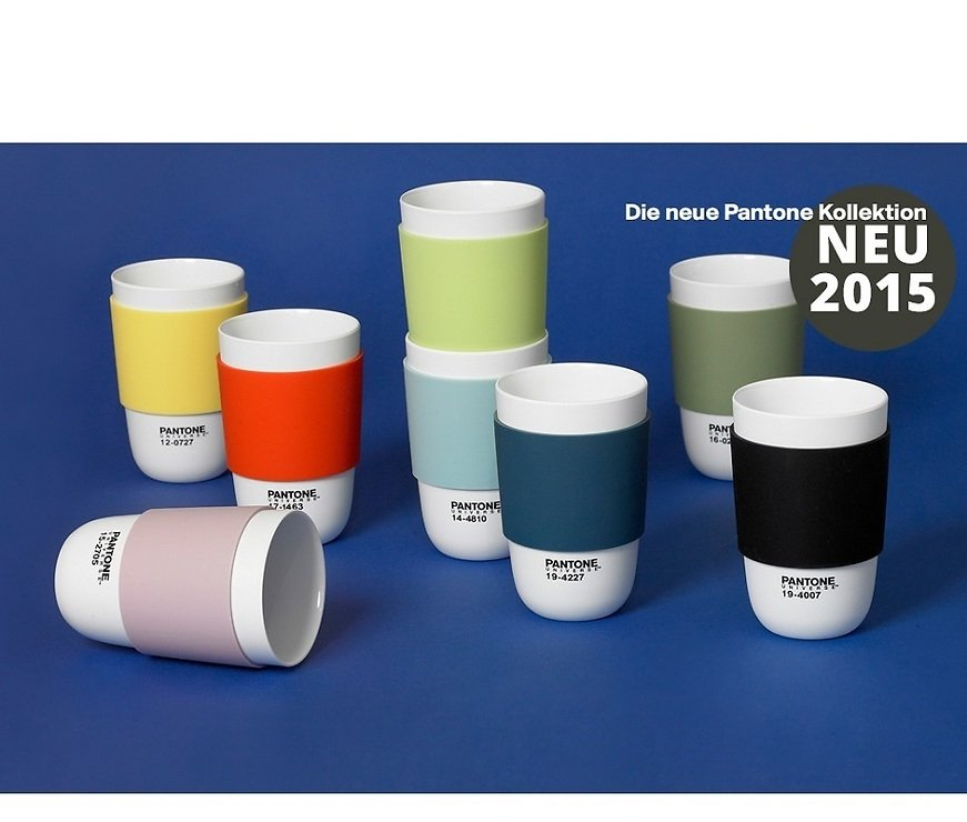 Pantone Universe Becher Cup Classic Butterfly 12-0322 400 ml - Pic 2