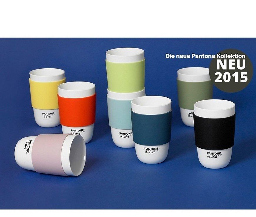Pantone Tassen pantone universe becher cup canal blue 14 4810 400 ml kaufen