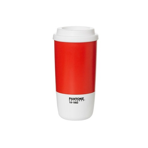 Pantone Universe Thermobecher Flame Scarlet 18-1662