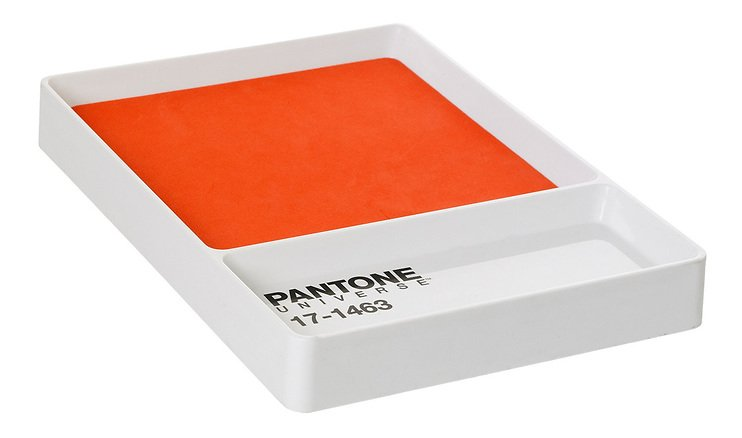 pantone schl sselablage key tray tangerine tango 17 1463. Black Bedroom Furniture Sets. Home Design Ideas