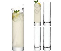 LSA Long Drink Set Bar 1,6l Glas klar