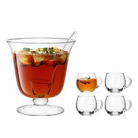 LSA Bowle Set Bar 26,5 cm Glas klar