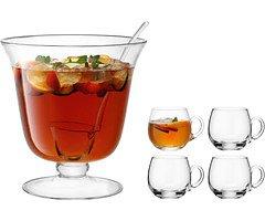 LSA Bowle Set Bar 26,5 cm Glas klar