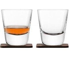 LSA Whiskyglas Arran 250ml mit Untersetzer 2er Set