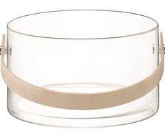LSA Glasbehälter Circle 22 cm klar
