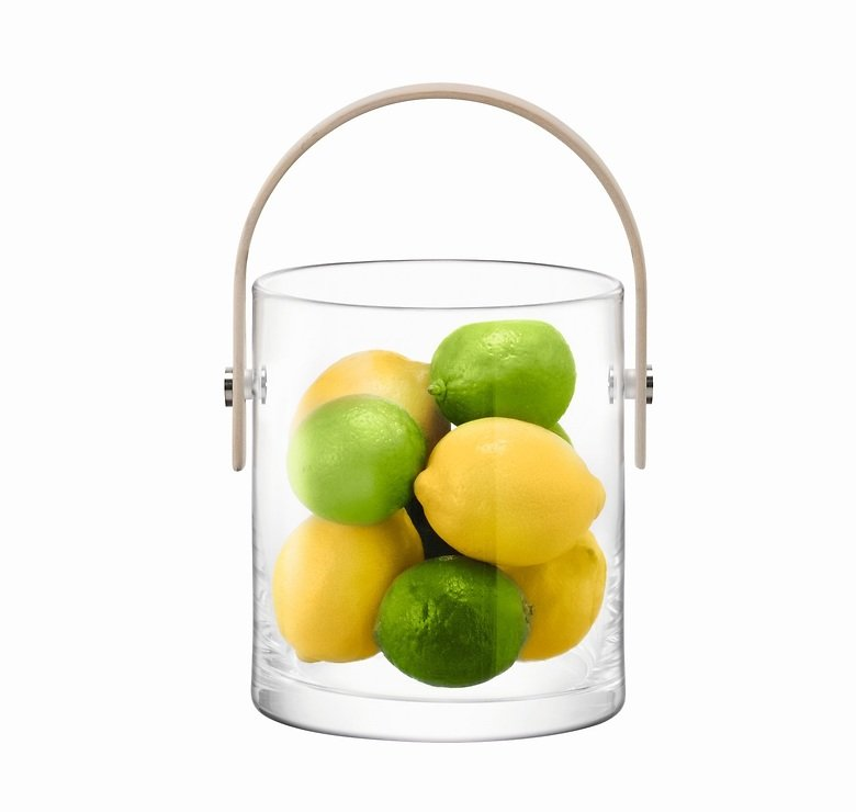 LSA Glasbehälter Circle 24 cm klar - Pic 3