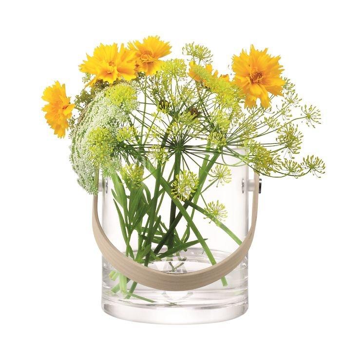 LSA Glasbehälter Circle 24 cm klar - Pic 4