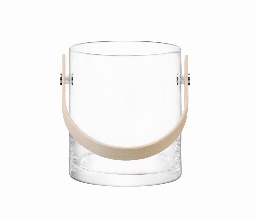 LSA Glasbehälter Circle 24 cm klar - Pic 1