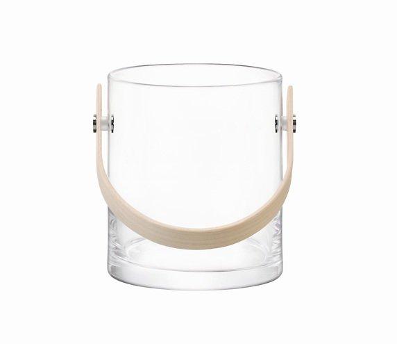 LSA Glasbehälter Circle 24 cm klar