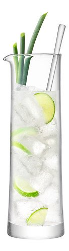 LSA Glaskaraffe mit Rührstab Gin 1,1 l klar