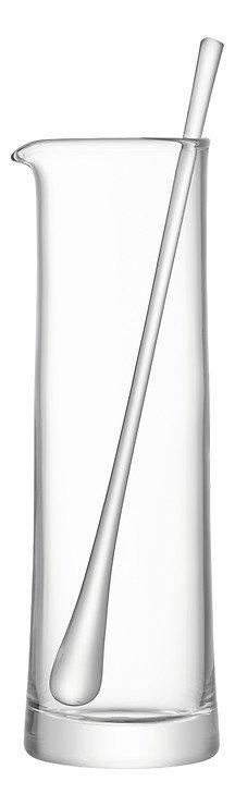 LSA Glaskaraffe mit Rührstab Gin 1,1 l klar - Pic 3