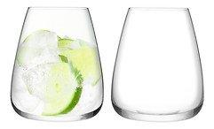 LSA Wasserglas Culture 2 Stück 590 ml klar