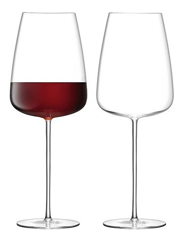 LSA Rotweinglas Culture 2 Stück 800 ml klar