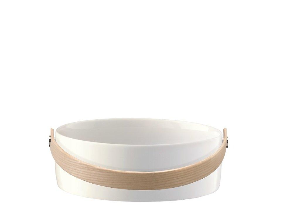 LSA Schüssel Circle 16 cm Porzellan weiß - Pic 2