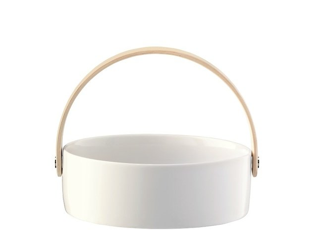 LSA Schüssel Circle 16 cm Porzellan weiß