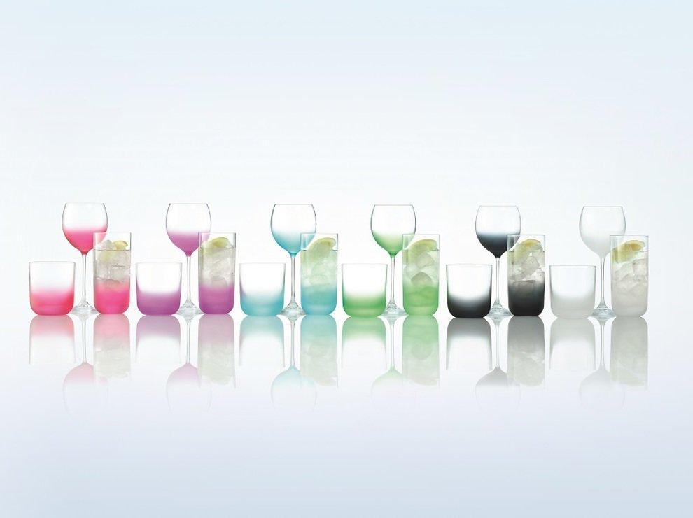 LSA Wasserglas Haze 325ml apfelgrün 4er Set - Pic 5