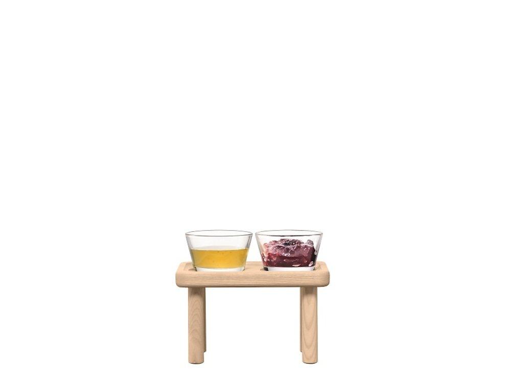 LSA Glasschalen & Ständer Silt Esche 19,5cm - Pic 1