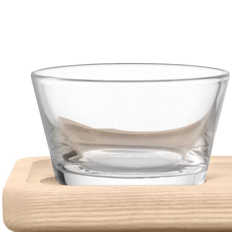 LSA Glasschalen & Ständer Silt Esche 19,5cm - Pic 3