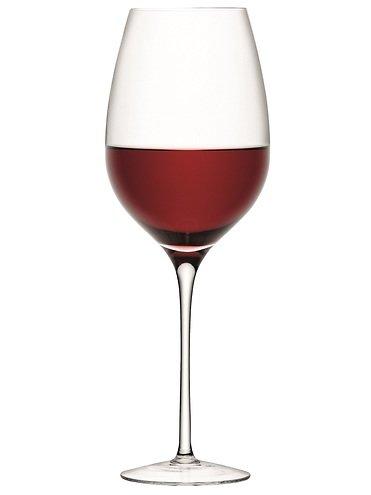 LSA Rotweinkelch Wine 850ml klar 4er Set