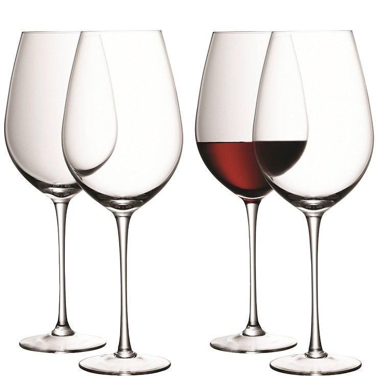 LSA Rotweinkelch Wine 850ml klar 4er Set - Pic 2
