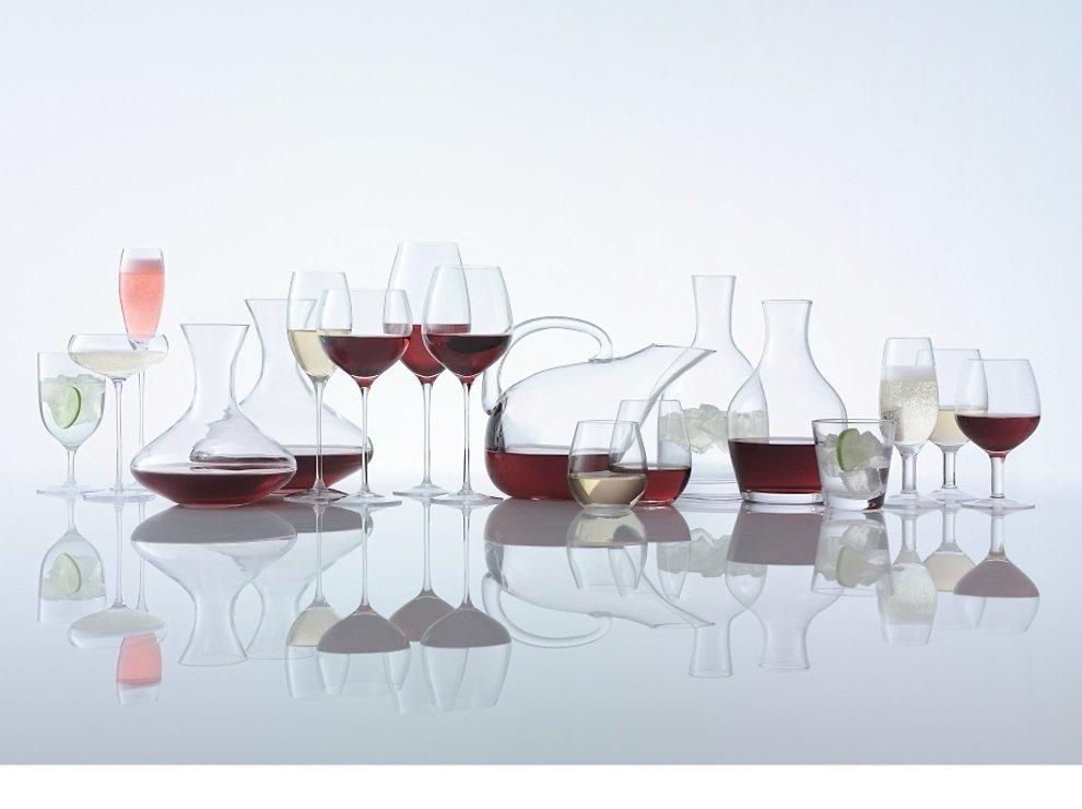 LSA Rotweinkelch Wine 850ml klar 4er Set - Pic 3