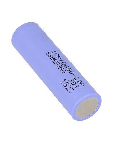 Samsung ICR 18650 Akku Batterie 22P 2200mAh 3,6V Flat Top