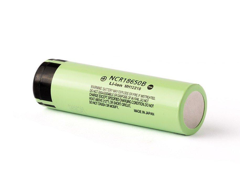 Panasonic NCR18650B 3.6V - 3.7V 3400mAh Li-Ion-Akku Batterie Pluspol flach - Pic 2