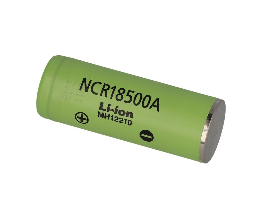 Panasonic NCR18500A 2040mAh - 3,8A Li-Ion-Akku Batterie Pluspol flach - Pic 1