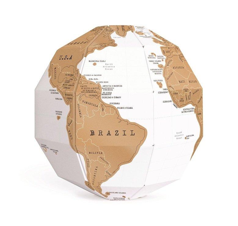 Luckies Rubbel Globus Scratch Globe - Pic 1