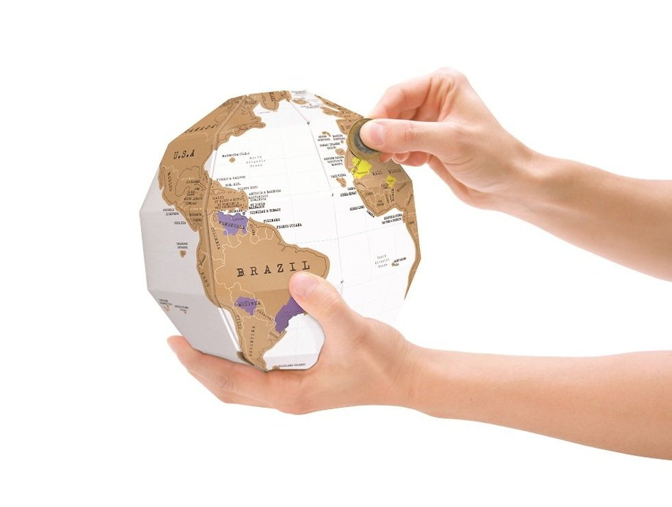 Luckies Rubbel Globus Scratch Globe - Pic 2