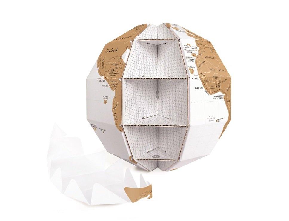 Luckies Rubbel Globus Scratch Globe - Pic 3