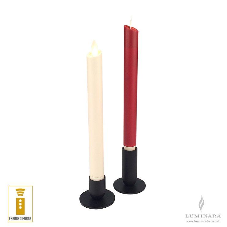 Luminara LED Stabkerze elfenbein fernbedienbar - Pic 4