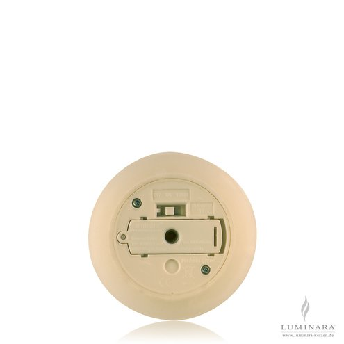 Luminara Ersatzdeckel Echtwachskerze D 8cm / AA Batterien