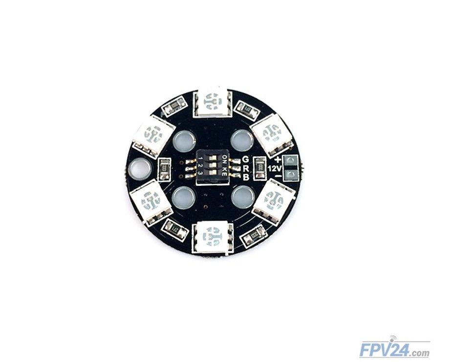 Matek RGB LED CIRCLE X6 12V - Pic 2