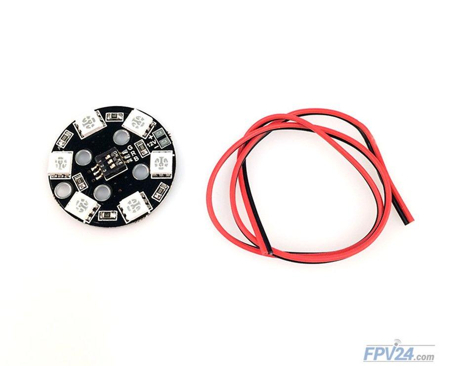 Matek RGB LED CIRCLE X6 12V - Pic 1