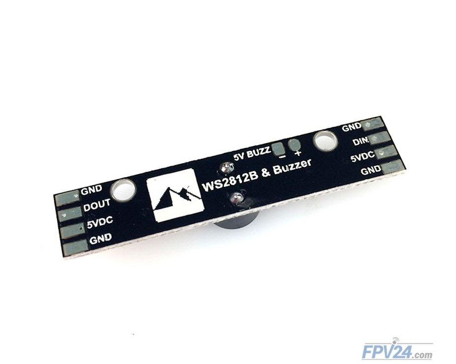 Matek RGB LED WS2812B & Buzzer - Pic 2