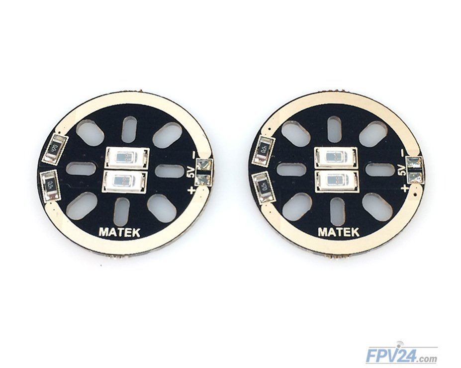 Matek LED CIRCLE X2 5V Red (2pcs) - Pic 2