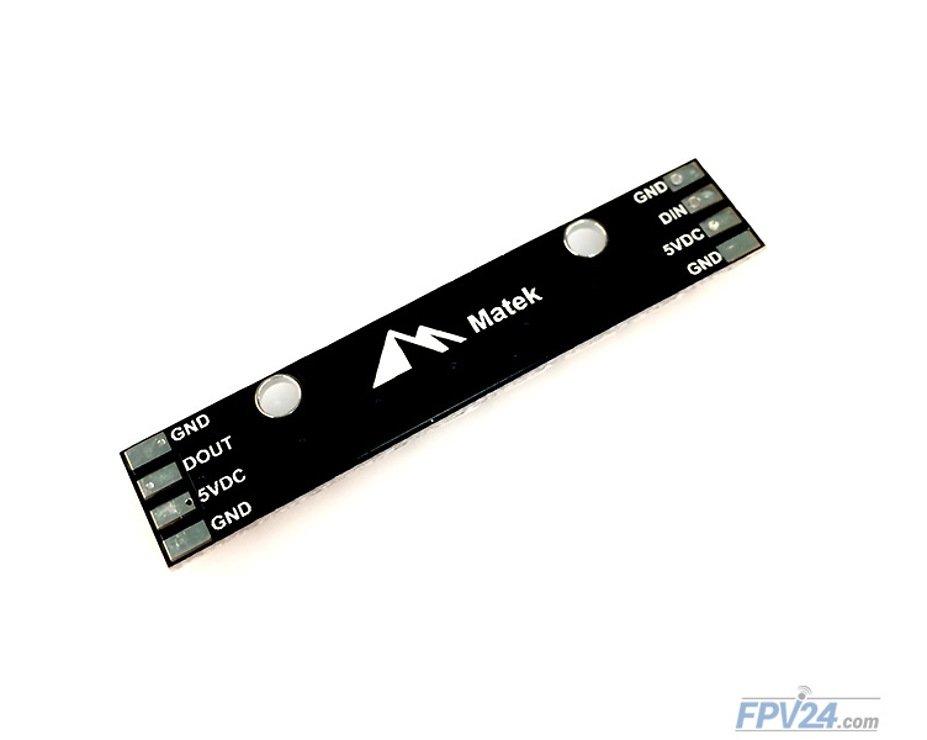 Matek RGB LED Stripe WS2812B 8 LED - Pic 2