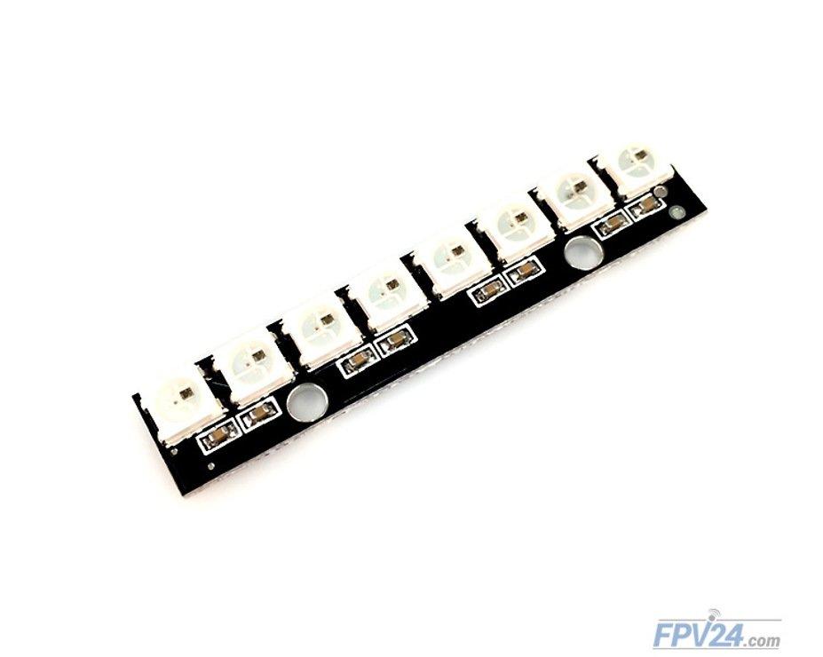Matek RGB LED Stripe WS2812B 8 LED - Pic 1