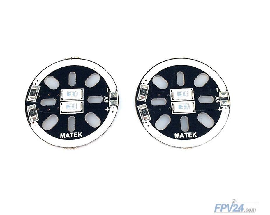 Matek LED CIRCLE X2 5V Green (2pcs) - Pic 2