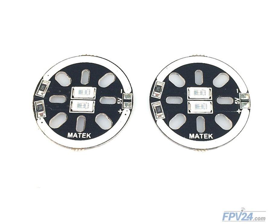 Matek LED CIRCLE X2 5V Blue (2pcs) - Pic 2