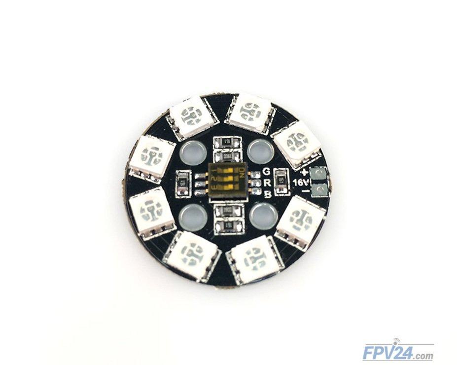 Matek RGB LED CIRCLE X8 16V - Pic 2