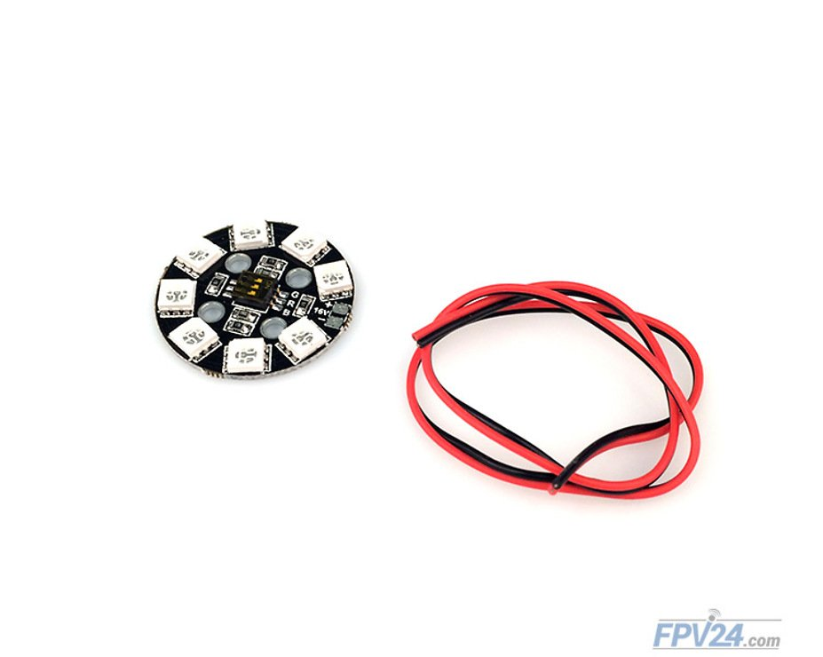 Matek RGB LED CIRCLE X8 16V - Pic 1
