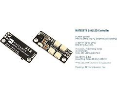 Matek Systems 2812 LED Controller 2-6S Steuermodul mit 5V BEC